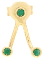 ALIITA Trio Esmeralda 9kt Gold And Emerald Earring