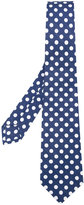 Kiton polka dot tie - men - Cotton - One Size