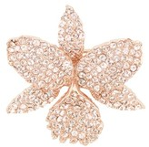 Nina Women's Orchid Crystal Pin