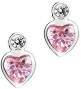 Prinzessin Lillifee 414579 Rub Over Cubic Zirconia Sterling Silver 925 Stud Earrings
