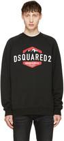 DSQUARED2 Black Logo Sweatshirt