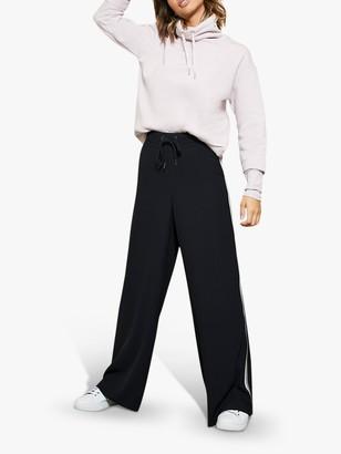 Mint Velvet Ribbed Funnel Neck Sweatshirt