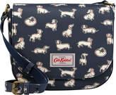 Cath Kidston Mini Mono Dogs Curved Saddle Bag