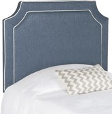 The Well Appointed House Twin Size Arched Headboard in Blue