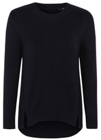 George Seamed Reverse Zip Jumper