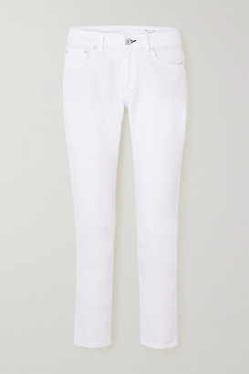 Rag & Bone Dre Low-rise Straight-leg Jeans - White