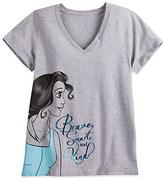 Disney Belle Heathered Tee for Women - Plus Size