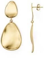 Argentovivo Mirrored Drop Earrings