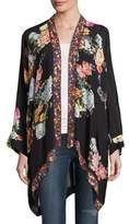 Johnny Was Jazzy Kimono-Style Printed Jacket, Petite