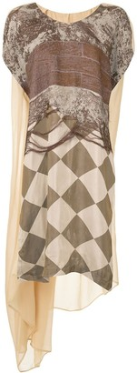 UMA WANG Panelled Asymmetric Tunic