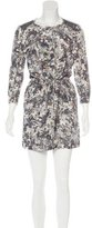 Edun Silk Floral Dress