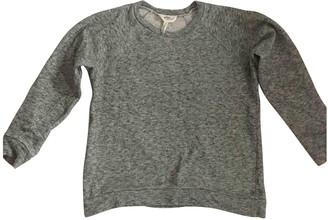 Etoile Isabel Marant Grey Cotton Top for Women