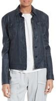 ATM Anthony Thomas Melillo Women's Lambskin Leather Jacket