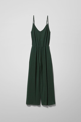 Weekday Ally Jumpsuit - Green