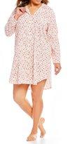 Lauren Ralph Lauren Plus Floral Jersey Sleepshirt