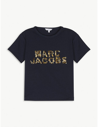 Little Marc Jacobs Beaded logo T-shirt 4-14 years