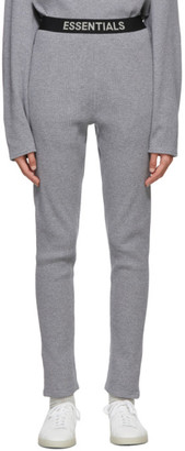 Essentials Grey Thermal Lounge Pants