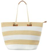 Phase Eight Debbie Stripe Beach Bag, Neutral