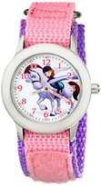Disney Kids' W001939 Sofia Analog Display Analog Quartz Pink Watch