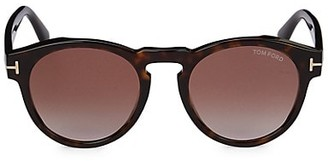 Tom Ford 52MM Oval Sunglasses