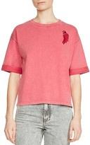Maje Trendy Embroidered Tee