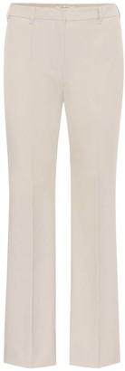 S Max Mara Tebano stretch-cotton pants