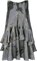 Talbot Runhof Nostra dress - women - Silk/Polyamide/Polyester/Cupro - 34
