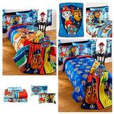 Paw Patrol Kids 5 Piece Bedding Set with Reversible Comforter, Sheets, Pillow Case, and Nap Blanket