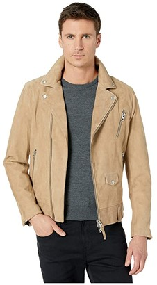 Mackage Fenton-SU Moto Jacket (Sand) Men's Coat