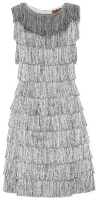 Missoni Metallic fringed dress