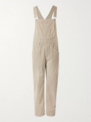 Isabel Marant Ojaboa Cotton-Corduroy Overalls