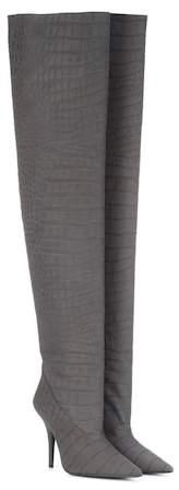 Yeezy Leather over-the-knee boots (SEASON 5)