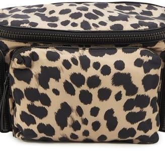 Dries Van Noten Leopard belt bag