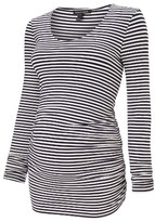 Isabella Oliver Women's Arlington Stripe Maternity Tee
