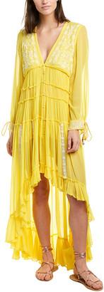 Rococo Sand Gathered Maxi Dress