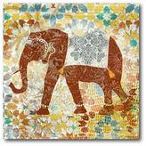 Asstd National Brand Global Elephant Canvas Wall Art