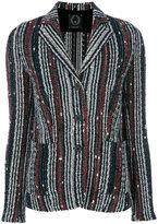 T Jacket striped jacket