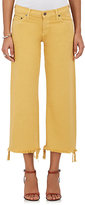 Simon Miller Women's Salado Low-Rise Crop Flared Jeans