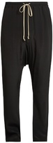 Rick Owens Slim-leg Cotton Trousers