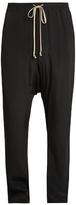 Rick Owens Slim-leg cotton trousers