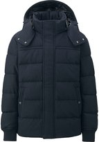 Uniqlo Men Stretch Wool Blended Down Jacket
