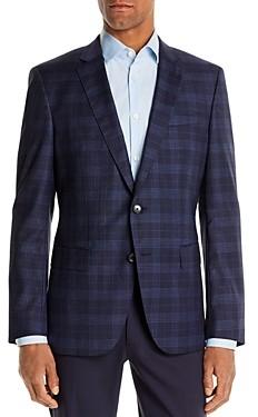 BOSS Huge Plaid Slim Fit Suit Jacket
