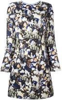 Nina Ricci blurred floral print dress