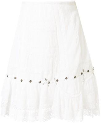 R 13 Pyramid Stud Skirt