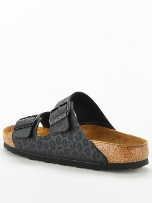 Birkenstock Leo Leopard Arizona Slide Sandal - Leopard