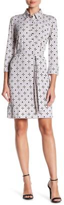 Donna Morgan Jersey Shirt Dress
