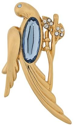 Monet Pre Owned '1970s Bird Brooch