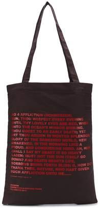 Rick Owens 'mother's tears' print tote bag