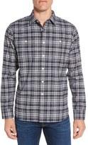 Grayers Men's Harper Heritage Trim Fit Plaid Flannel Sport Shirt