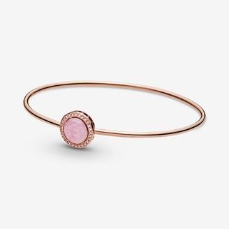 Pandora Pink Swirl Bangle